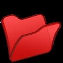 128x128 of Folder red
