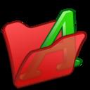Folder red font1