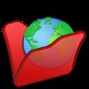 Folder red internet