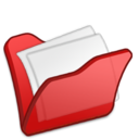 128x128 of Folder red mydocuments