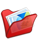 Folder red mypictures