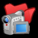 128x128 of Folder red videos