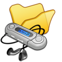 Folder yellow mymusic