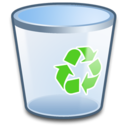 128x128 of System Recycle Bin Empty
