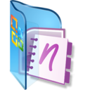 128x128 of OneNote Notebooks
