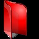 Folder Open Red