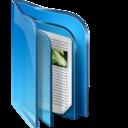 Live Folder Blue