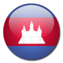 128x128 of Cambodia Flag