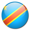 128x128 of Congo Flag