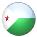 128x128 of Djibouti Flag