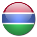 128x128 of Gambia Flag