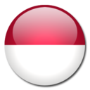 128x128 of Indonesia Flag