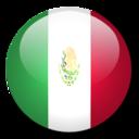 128x128 of Mexico Flag