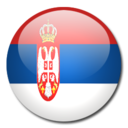 128x128 of Serbia Flag