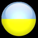 128x128 of Ukraine Flag