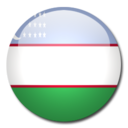 Uzbekistan Flag