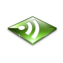 128x128 of Rss Feeds Green
