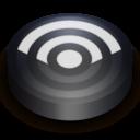 128x128 of Rss black circle