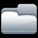 Folder Open Silver