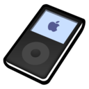 iPod classic black