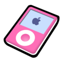 128x128 of iPod nano pink