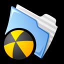 128x128 of Burnable Folder