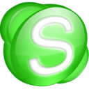 128x128 of Skype green