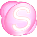 Skype pink