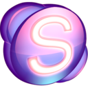 Skype purple