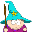 128x128 of Cartman Gandalf zoomed