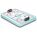 128x128 of Hockey field