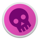 Skull magenta