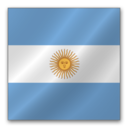 128x128 of Argentina Flag