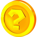 128x128 of Question Coin