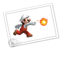 128x128 of Fire Mario