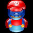 128x128 of Mario