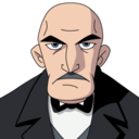 128x128 of Alfred Pennyworth