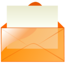 128x128 of Mail orange