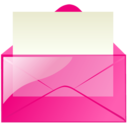 Mail pink