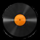 128x128 of Vinyl Orange 512