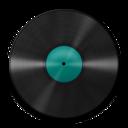 128x128 of Vinyl Turquoise 512