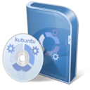 128x128 of Kubuntu disc