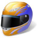 128x128 of Motorsport Helmet