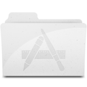 128x128 of ApplicationsFolderIcon White
