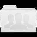 128x128 of GroupFolder White