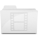 MovieFolderIcon White