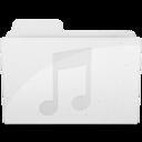 MusicFolderIcon White