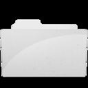 128x128 of OpenFolderIcon White