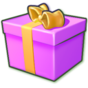 Giftbox purple