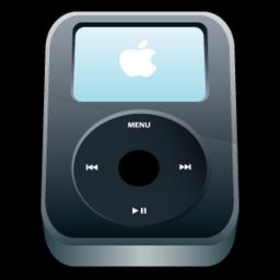 256x256 of iPod Video Black
